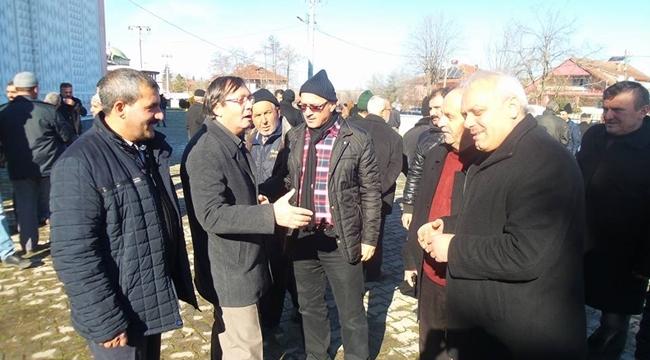 Cami Derneğinden Belediye Başkanı Orhan Yıldırıma Teşekkür