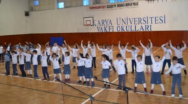 SAÜ Vakfı Okulları Büyük Törenle Karnelerini Aldı