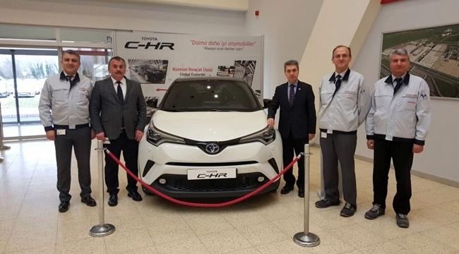 Arifiye Kaymakamı ve Belediye Başkanından Toyota'ya Ziyaret