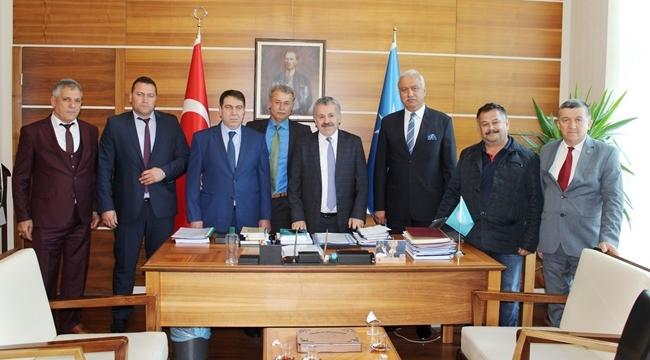 Dişli ve TÜRK-İŞ Genel Başkanı Ergün Atalay'ı Ziyaret Ettiler