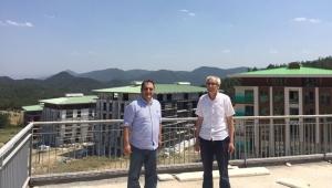 Başkan Özkaraman'dan Paşalar Konakları'na Ziyaret