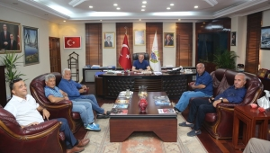 Tamer Yiğit'den Başkan Yılmazer'e Ziyaret