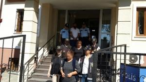 Bilecik'te Çaldılar, Sakarya'da Yakalandılar!