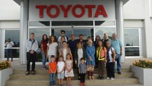 Toyota Otomotiv Sanayi Türkiye Aile Ziyaretleri Sürüyor