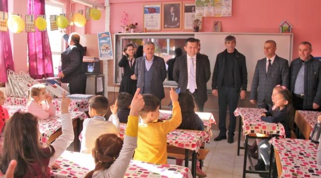 Ferizli'de Öğrencilerin Karne Heyecanı