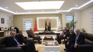 Vali Balkanlıoğlu Sakarya Ticaret Borsasını Ziyaret Etti