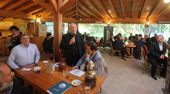 MÜSİAD'tan İş Birliği Toplantısı