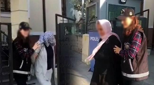 Analı Kızlı Hırsızlık Çetesi Yakalandı