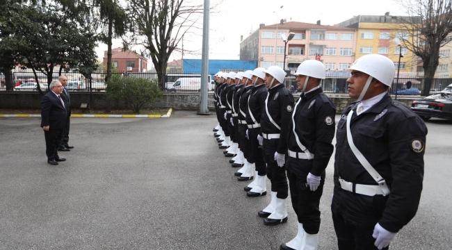 Vali Nayir'den Emniyet Ve Jandarmaya İade-İ Ziyaret