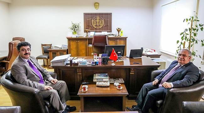 Vali Nayir'den Vergi Mahkemesi Başkanı'na Ziyaret