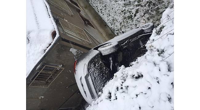 Sapanca'da Kar Can Aldı