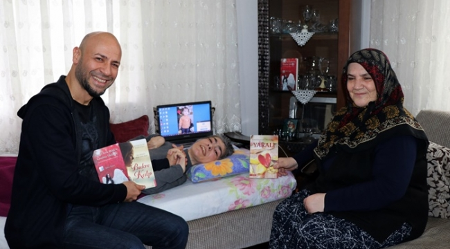 Tazeoğlu Rukiye'yi Ziyaret Etti