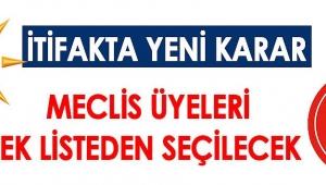 AK Parti ve MHP İttifakı Genişletti.. Meclis Üyeleri Tek Liste Olacak!