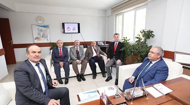 Vali Nayir'in Kurum Ziyaretleri Devam Ediyor