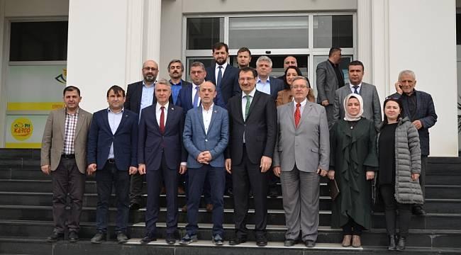 Ali İhsan Yavuz'dan Erenler'e Ziyaret