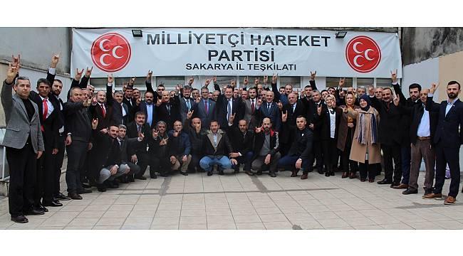 MHP Genel Başkan Yardımcısı Kamil Aydın Sakarya'da