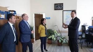 Yavuz'dan Adapazarı Belediyesi'ne Ziyaret