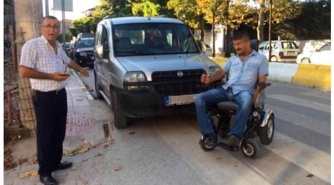 """""""Engelli Rampasına Araç Park Etmeyin"""""""