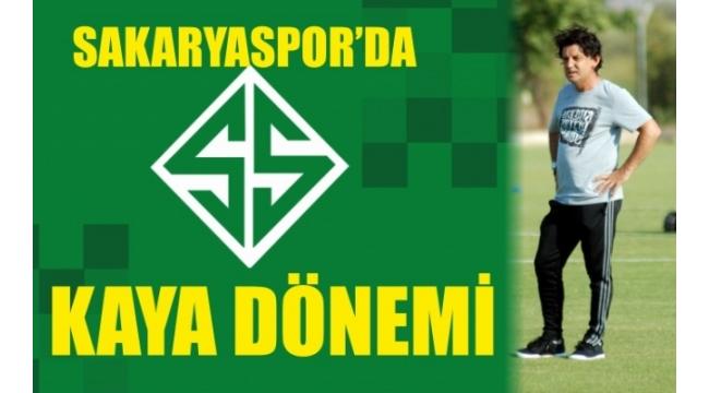 Sakaryaspor'da Kaya Dönemi