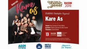 """Tiyatro """"Kare As"""" Çarşamba OKM'de"""