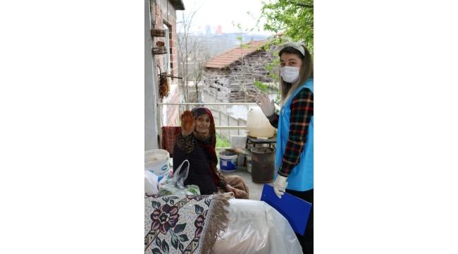 Büyükşehir YADEM ile 65 yaş ve üstü yaşlıların yanında