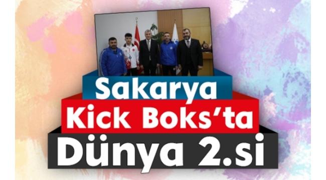 Sakarya Kick Boks'ta Dünya 2.si