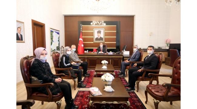 Vali Nayir Türkiye Birincisini Ağırladı