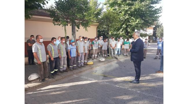 Başkan Babaoğlu Personelle Bayramlaştı