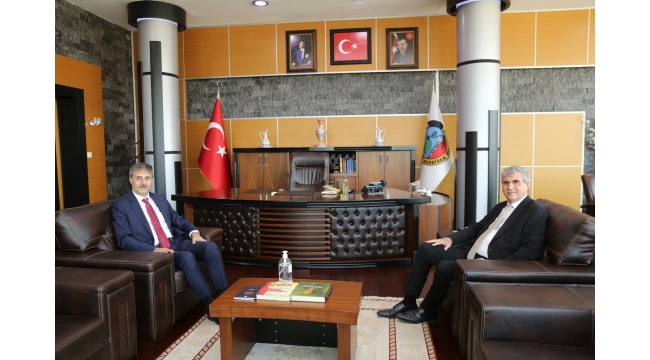 Başkan Yüce Alemdar'a Misafir Oldu