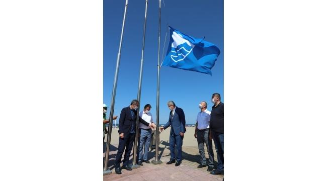 Karasu Sahil Park Ve 32 Evler Plajına Bu Yıl Da Mavi Bayrak