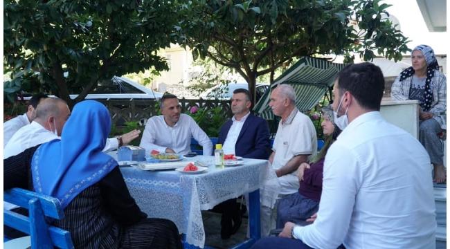 Sapanca'da, Şehit Ailelerine ve Gazilere Bayram Ziyareti
