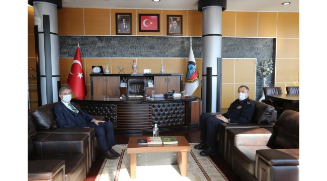 Emniyet Müdüründen Alemdar'a Ziyaret