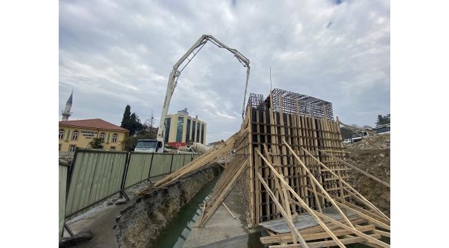Sakarya Köprülü Kavşağın ilk ayağı tamamlanıyor