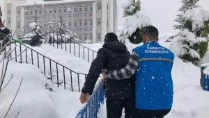 Yaşlıların İhtiyaçları Büyükşehir Tarafından Karşılanıyor