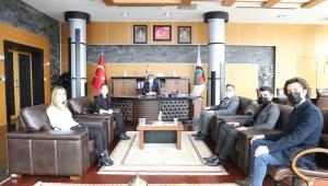 TÜGVA Serdivan Başkan Alemdar'ı Ziyaret Etti