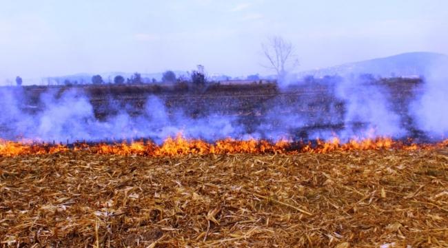 Büyükşehir Anız Yangınlarına Karşı Vatandaşları Uyarıyor