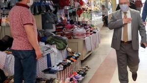 Vali Nayir'den Tarihi Uzunçarşı Esnafına Ziyaret