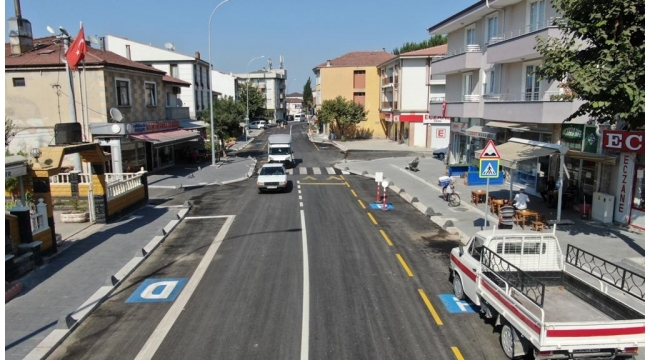 Şehit Yaşar Güller Caddesi'nde Yüzler Gülüyor