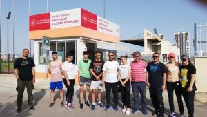 Büyükşehirli sporcular Mersin'de madalyaları göğüsledi