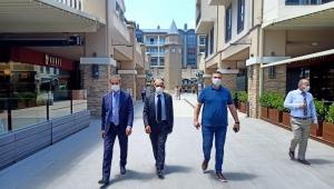 Başkan Alemdar Cadde 54'ü Ziyaret Etti