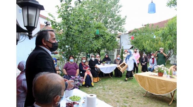 Çiğdem Erdoğan Atabek Arifiye'de Ziyaretlerde Bulundu…