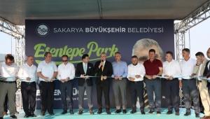 Pamukova Esentepe Park, Büyükşehir işletmesiyle sezonun gözdesi olacak