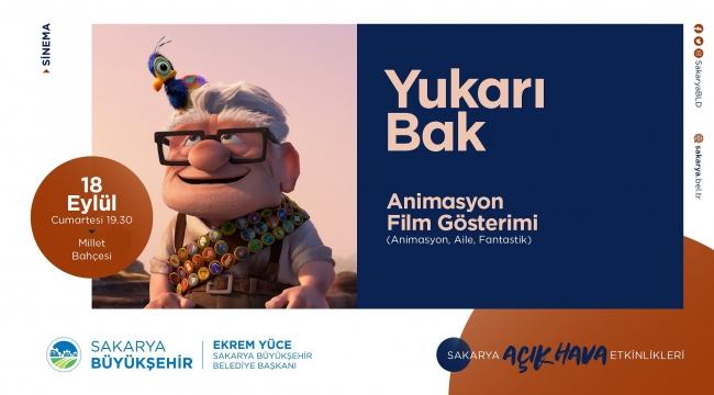Millet Bahçesi'nde Minikler Animasyon Filmi İzleyecek