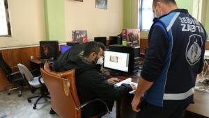 Serdivan'da İnternet Kafe ve Oyun Salonları Denetlendi